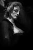 Sex museum : Wax prostitute (Booouh) Tags: light portrait blackandwhite amsterdam noiretblanc prostitute wax redlightdistrict sexmuseum waxprostitute
