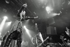 New Years Day (Brian Krijgsman) Tags: blackandwhite bw film monochrome amsterdam rock photography concert nikon photos live grain band anaheim zwart wit melkweg newyearsday 2016 iso25600 trixx d4s ashcostello briankrijgsman brandonwolfe nikkimisery jeremyvalentyne