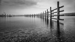 Pipes (Sebo23) Tags: bw water pipes bodensee langzeitbelichtung longtimeexposure rohre radolfzell canon6d canon24704l