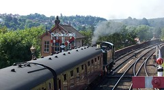 Bewdley's Severn Valley Railway Station (K.M. here now'n'again) Tags: 2006 severnvalleyrailway bewdley kmsnapshots