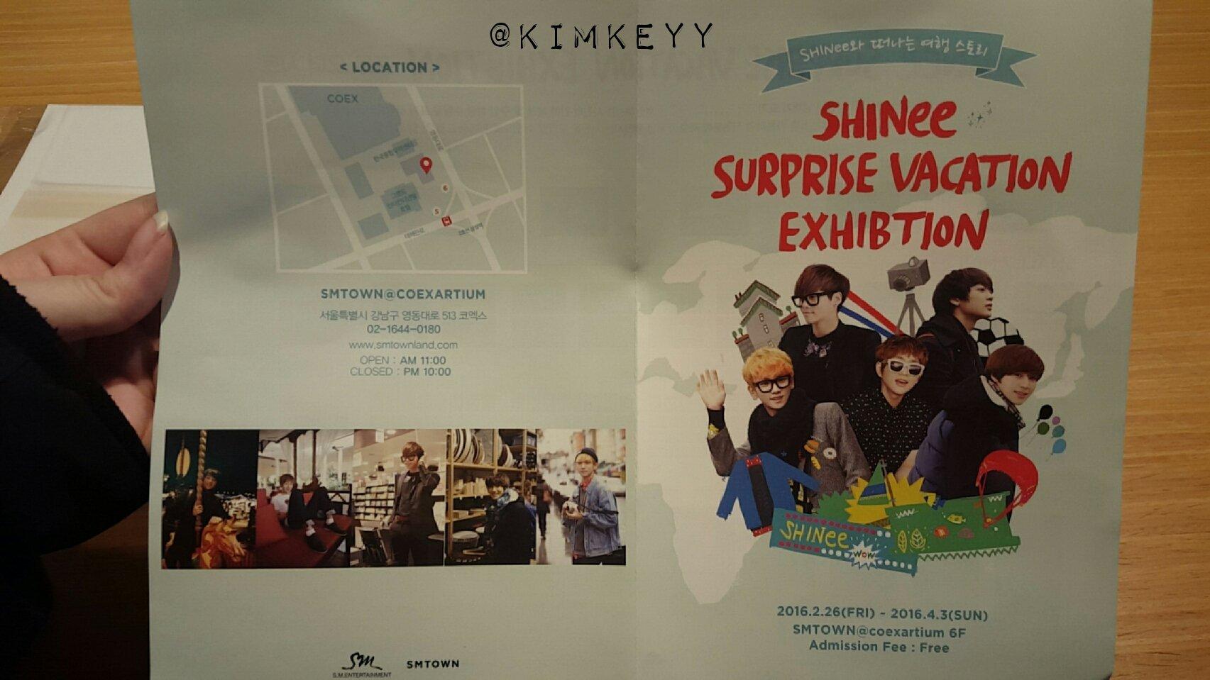 SHINee @ SHINee Surprise Vacation Exhibition 25217764151_4046414276_o
