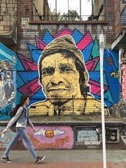 Orgullo de calle - Street pride (Juegasiempre) Tags: stencil estencil estarcido handcut bogotastreetart djlu juegasiempre