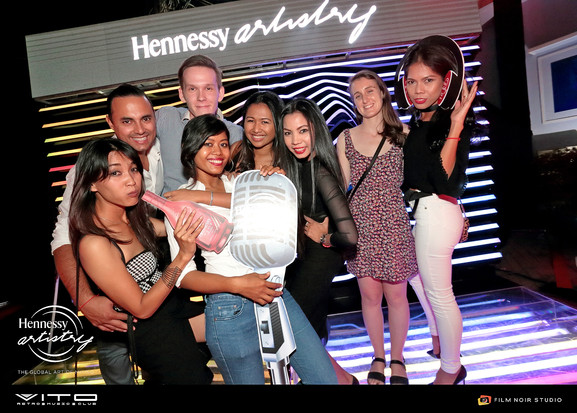 Hennessy Artistry Club Series ឆ្នាំ2016 នៅក្លឹប Vito