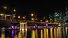 Cloud Nine (elenaleong) Tags: longexposure singapore nightscape singaporeriver esplanadebridge queenelizabethwalk esplanadepark publicartinstallation boattrails tanweelit cloudnineraining waterstepsplaza jubileewalktrail