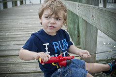 Little Fisherman (Harlea Takes Photos) Tags: fishing dock florida mickeymouse fishingpole toddlerboy