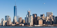 Manhattan Skyline (Mauro Grimaldi) Tags: cruise sea usa ny newyork manhattan thecity manhattanskyline bigapple bigcity libertyislandcruise tolibertyisland