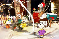 """A Charlie Brown Christmas"" Cutouts (Exile on Ontario St) Tags: christmas xmas winter decorations brown snow tree kids cutout lucy holidays montral outdoor montreal character hiver cartoon decoration lawn peanuts christmastree linus sally charlie cardboard doctor gift snoopy characters neige enfants charliebrown cutouts nol woodstock patty enfant extrieur arbre marcie peppermint sapin pelouse psychiatric aide cadeaux cadeau schulz maisonneuve peppermintpatty guichet bandedessine hochelaga 5cents hochelagamaisonneuve docteur vanpelt gazon psychologist arbredenol sapindenol charlesmschulz sallybrown lucyvanpelt charliebrownchristmas dessinanim ruemoreau linusvanpelt psychiatrichelp acharliebrownchristmas psychiatrique psychiatrybooth"