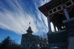Belvedere Castle (Takhte-Sarah) Tags: newyorkcity newyork centralpark snowstorm blizzard belvederecastle snowday snowzilla snowpacolypse
