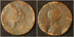 George III Coin circa 1780 (fstop186) Tags: macro up ed one george coin close iii olympus 11 historic penny worn 60mm piece damaged rare f28 collectable ratio battered em1 1780 mzuiko