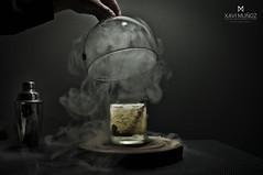 mojito ahumado by Glass 03 (xavi_munozphoto) Tags: black tomato sushi photographer smoke mojito gastronomia fotografia humo luxe gastronomica ahumado restauracin restauracion