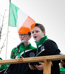 The boys from St. Malachy's in Belfast