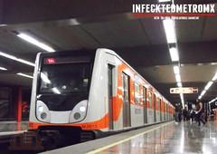 CAF Bombardier NM-02 El Rosario L-7 (infecktedmetromx) Tags: subway mexico df metro stc caf ciudaddemexico bombardier l7 cdmx bombardiertransportation cddemexico nm02 stcmetro metrodelaciudaddemexico rubbertyredmetro