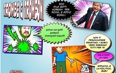 Razzisorcimachia, purtroppo Omero non c' pi... peccato (SatiraItalia) Tags: humor cartoons satira vignetto
