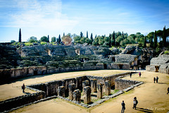 Itlica (serielimitada) Tags: espaa roma sevilla italica hispania