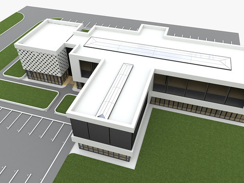 Business Building - Exterior Renderings