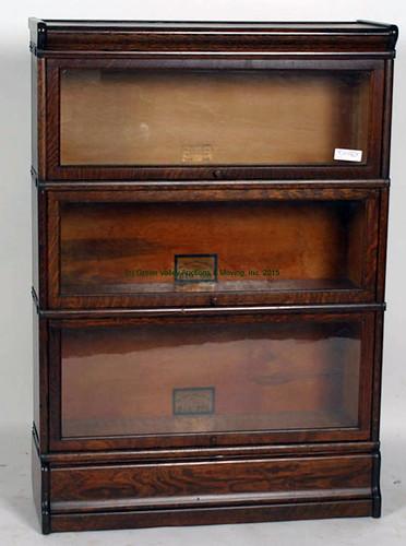 Oak Three Stack Bookcase - $770.00 (Sold June 5, 2015)