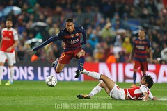 Barcelona vs Arsenal (Kwmrm93) Tags: barcelona sports sport canon football fussball action soccer futbol campnou futebol uefa championsleague fotball voetbal fodbold calcio deportivo fotboll  deportiva esport fusball  fotbal jalkapallo  nogomet fudbal  neymar votebol fodbal   eos1dx