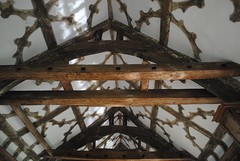 Up to the roof (zawtowers) Tags: house century hall long gallery cheshire little timber framed property national trust manor 15th congleton moreton moated