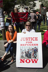 justice now (louisa_catlover) Tags: autumn demo march justice democracy walk refugees politics rally protest australia melbourne victoria demonstration activism directaction freespeech asylumseekers 2016 justiceforrefugees palmsundaywalkforjusticeforrefugees