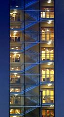 Levels (CoolMcFlash) Tags: vienna wien abstract building architecture night stairs canon photography eos lights austria österreich pattern fotografie nacht geometry stock symmetry flats level architektur tamron wohnung gebäude belichtung muster lichter abstrakt stufen treppen etage symmetrie geometrisch 2470 a007 60d