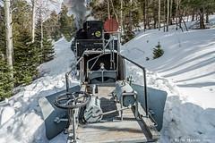 Deep Snow at MP 306.5 (kdmadore) Tags: railroad train lava steam bighorn snowplow narrowgauge flanger steamlocomotive antonito 487 cumbrestoltec drgw denverriograndewestern hangmanstrestle