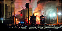 Fuxin Steam - End of an Era (Welsh Gold) Tags: china night republic shot an steam peoples era end northwestern province locomotives sy liaoning fuxin of