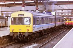 BRITISH RAIL REGIONAL RAILWAYS 101682 53265 + 51505 (bobbyblack51) Tags: station set manchester all diesel transport piccadilly class 101 british 1994 railways types leyland units 51505 metrocammell regionalrailways of 53265 101682