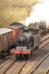 Steam Locomotive - 30053 - M7 Class - LSWR 4 (Mark Gray Photos) Tags: train railway loco steam locomotive swanage