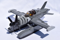 D4CRazortail001 (Dragonov Brick Works) Tags: lego aircraft snot studless miniscale