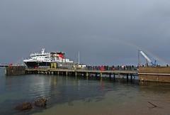 Isle of Arrainbow (Bricheno) Tags: ferry island scotland clyde boat rainbow ship escocia calmac brodick arran isleofarran szkocja caledonian schottland scozia macbrayne cosse firthofclyde caledonianmacbrayne  esccia  scotlandinminiature  bricheno scoia