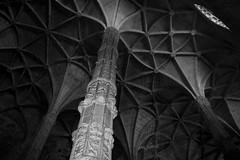 Monastero dos Jerónimos, Particolare. (Ondeia) Tags: bw lisboa bn dos bianco nero bellezza monastero lisbona portogallo particolare contrasto jerónimos meraviglia volte