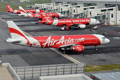AirAsia 9M-AHU (Howard_Pulling) Tags: camera photo airport nikon aviation picture malaysia kualalumpur airlines kl klia howardpulling d5100