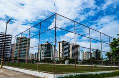 Cidade na gaiola (KakaR2R) Tags: city blue sky urban color brasil landscape photography picture pic paisagem jail urbano fotografia aracaju gaiola aracajusergipe