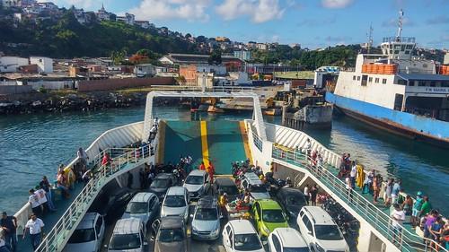 Terminal do FerryBoat de São Joaquim - Salvador/BA