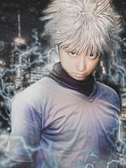 Killua Zoldyck (ArtNinjaph) Tags: boy anime art cosplay ninja fantasy electricity cinematic assassin hunterxhunter aien killua hxh artninja killuazoldyck huntersassociationph artninjaph