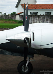 Propeller, Spinner & Aircraft (Antnio A. Huergo de Carvalho) Tags: airplane airport aircraft aviation piper avio propeller seneca spinner aviao embraer pa34 hlice emb810 senecaiii pa34220t aviaoexecutiva aviaogeral emb810d ptrup