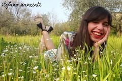 C#05 (Stefanunzio) Tags: flowers italy woman primavera girl grass donna spring italia c olive erba tuscany fiori toscana prato ragazza olivo poggioacaiano bonistallo