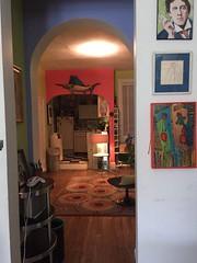 Oscar's New Home (kevin63) Tags: oscar doorway hanging haller lightner paintingwilde