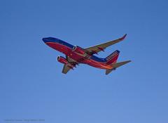 Leaving On A Jet Plane (DugJAX) Tags: airplane florida aviation jacksonville fl jax southwestairlines boeing737 ef24105mmf4lisusm jacksonvilleinternationalairport canonrebelt2i