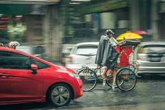 Struggle. (Alleat) Tags: street city blue urban beautiful rain indonesia photography mess flickr moody cityscape artsy abc bandung glance flick braga baru feelings pasar
