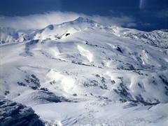 Mt.Gunbetsu from Mt.Shokanbetsu (threepinner) Tags: mamiya hokkaido 55mm   positive f28 hokkaidou iso50 northernjapan sekor mashike m645 hamamasu    mountainsnaps mtgunbetsu mtshokanbetsu