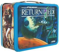 1983 Return of the Jedi lunchbox - Return of the Jedi (Tom Simpson) Tags: vintage starwars 1983 lunchbox 1980s deathstar returnofthejedi imperialshuttle