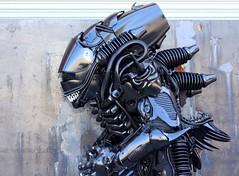 Brooklyn Alien (Brooklyn RobotWorks) Tags: brooklyn robot costume cosplay alien ridleyscott aliens sigourneyweaver comiccon xenomorph nostromo nycc alienday peterkokis brooklynrobotworks