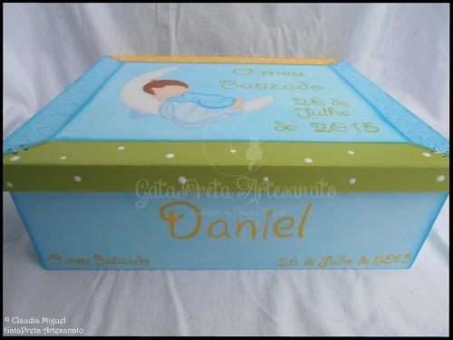 """Caixa grande de batizado """"Baby Sleep"""