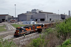 W&LE 303 Timken Steel Faircrest Plant 554 4/25/16 (Poker2662) Tags: plant steel timken 303 554 wle faircrest 42516
