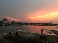 View from Mango Tree on the River (jstravelchannel) Tags: river thailand restaurant asia bangkok chaophrayariver mangotreeontheriver