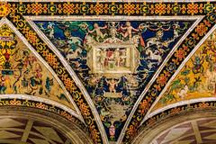 The Piccolomini Library, Siena (Arutemu) Tags: italien italy canon lowlight europe italia zoom eu it medieval tuscany siena toscana tamron renaissance 6d   duomodisiena tamron28300 piccolominilibrary  eos6d