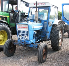 RTF 591M (Nivek.Old.Gold) Tags: tractor ford 1973 4000 cheffins