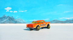 Hot Wheels HW WORKSHOP '55 Chevy Bel Air Gasser 2013 : Diorama Bonneville Salt Flats - 8 Of 13 (Kelvin64) Tags: hot air wheels salt flats chevy workshop 55 bel bonneville diorama gasser hw 2013