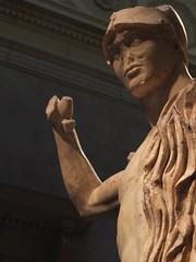 Wounded Stone (failing_angel) Tags: usa newyork manhattan 5thavenue metropolitanmuseumofart marblestatue woundedwarrior kresilas 290515 antonineperiod greekbronzestatue potesilaos